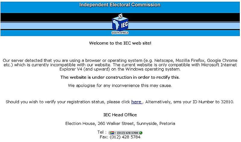 IEC Website